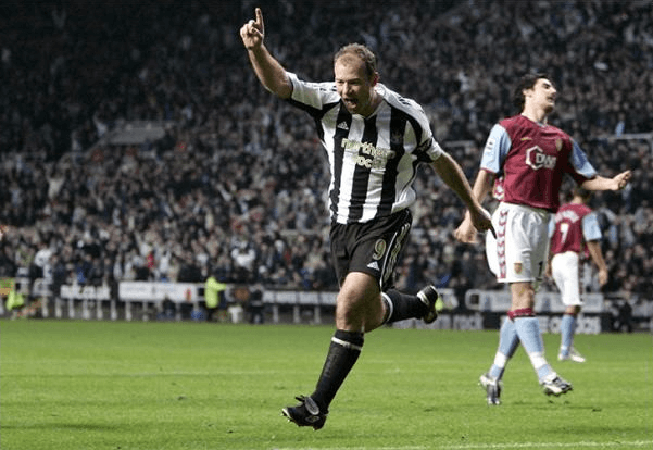 Alan Shearer Scoring