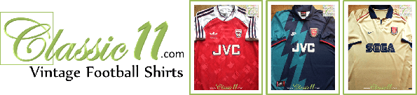 Arsenal Classic Football Shirts
