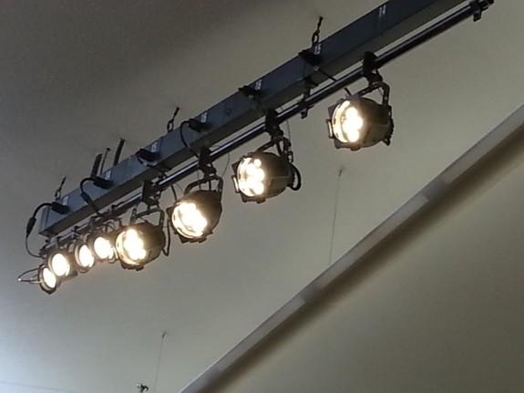 high ceiling church led lighting