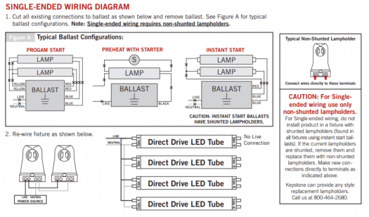 tridonic t8 ballast wiring diagram ceiling fan with light australia 18 6 kenmo lp de keystone direct drive x2 tubes single end or double line rh premierltg com 8 fluorescent