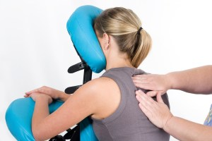 Corporate chair massage customer rewards and incentives