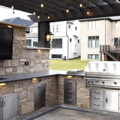 Outdoor Kitchens Boos Block Kitchen Island Patio Elmhurst Il