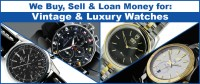 Cash For Rolex, Breitling, Omega and other Fine Watches.