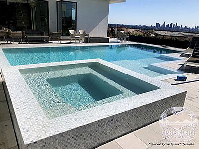 pool spa tile coping repairs los