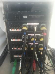 3 phase distro panel