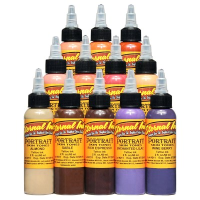 Eternal Portrait Colours from Premier Tattoo Supplies