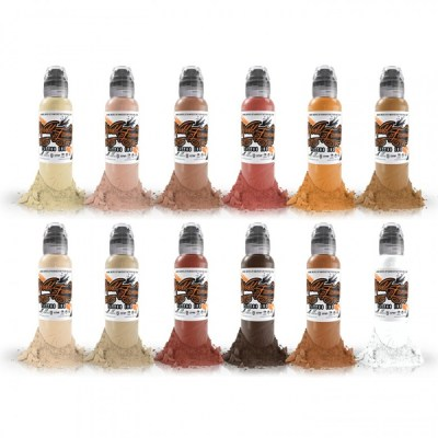 World Famous Inks - Skintones