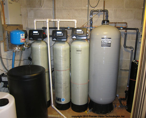 extreme well water softener and iron