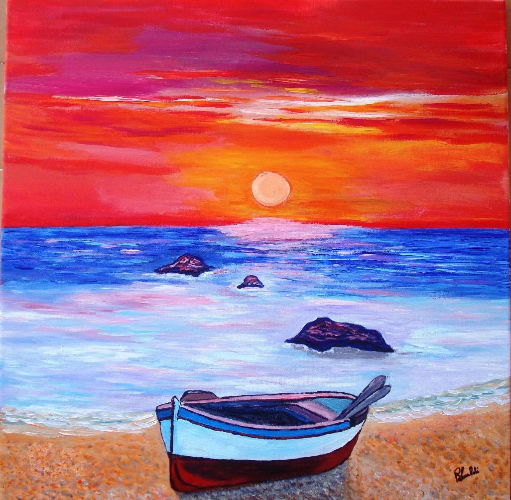 Al tramonto  Renato Lualdi  Opera Celeste Network