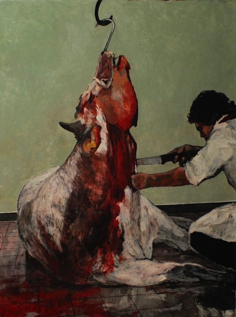 macellazione mucca