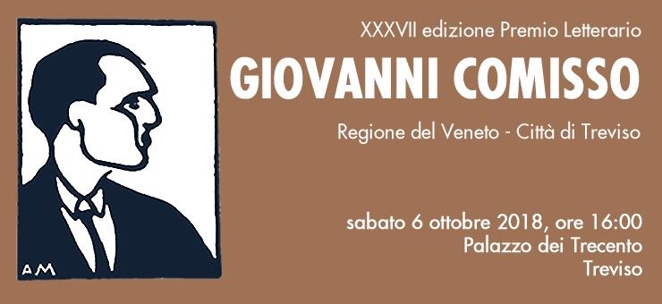 Cerimonia Finale del Premio Letterario Giovanni Comisso 2018 - XXXVII edizione