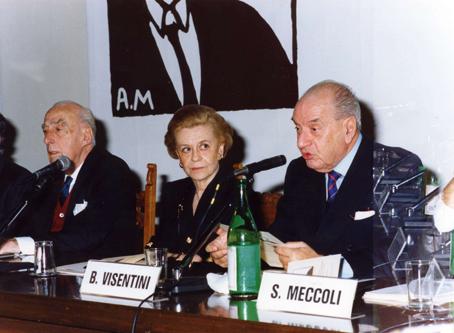 Ettore Della Giovanna, Giulietta Masina, Bruno Visentini