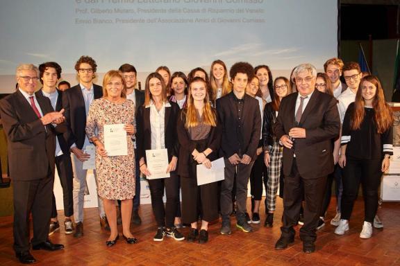 Squadra Liceo Giorgione e Vincitrice