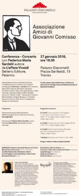 Conferenza – Concerto con Federico Maria Sardelli