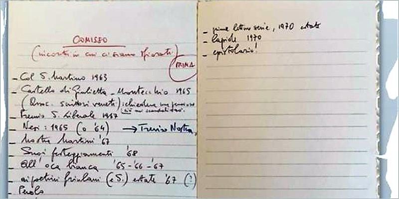 Trecento lettere di Giovanni Comisso a Maria e Natale  Mazzolà – 1926/1968