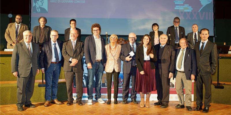I vincitori della 38° edizione del Premio letterario Giovanni Comisso