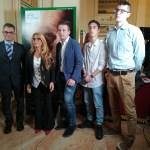 I ragazzi dell'ITIS PAleocapa di Bergamo con la presidente Carla De Albertis
