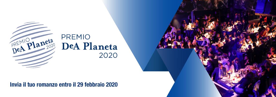 Edizione 2020 del Premio Letterario della casa editrice DeA Planeta