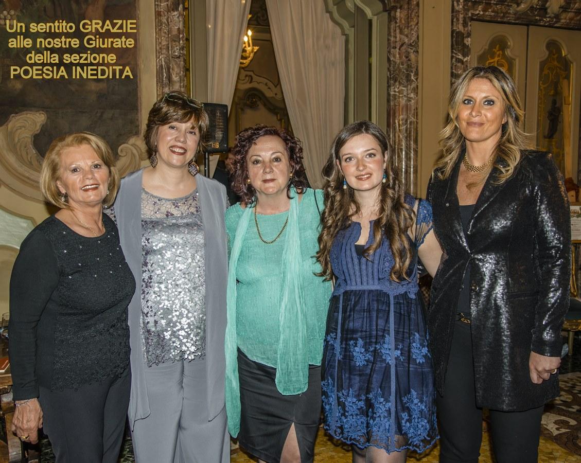 Sara Rodolao (presidente), Donatella Rampado (coordinatrice), Giovanna Bonaiuti, Maria Ellena, Roberta Di Febo.