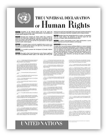 Dichiarazione Unversale dei Diritti Umani