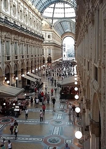 Vista su Galleria del Corso