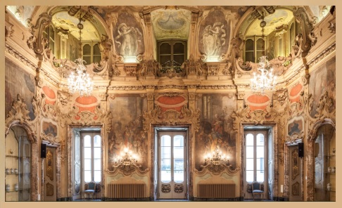 Palazzo Visconti Socrea - Sala Visconti