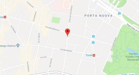 Via Porta Nuova 1 - Milano