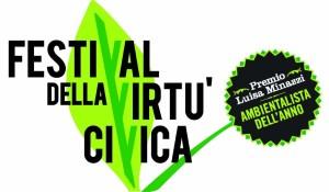 Il logo del Festival della virtù civica