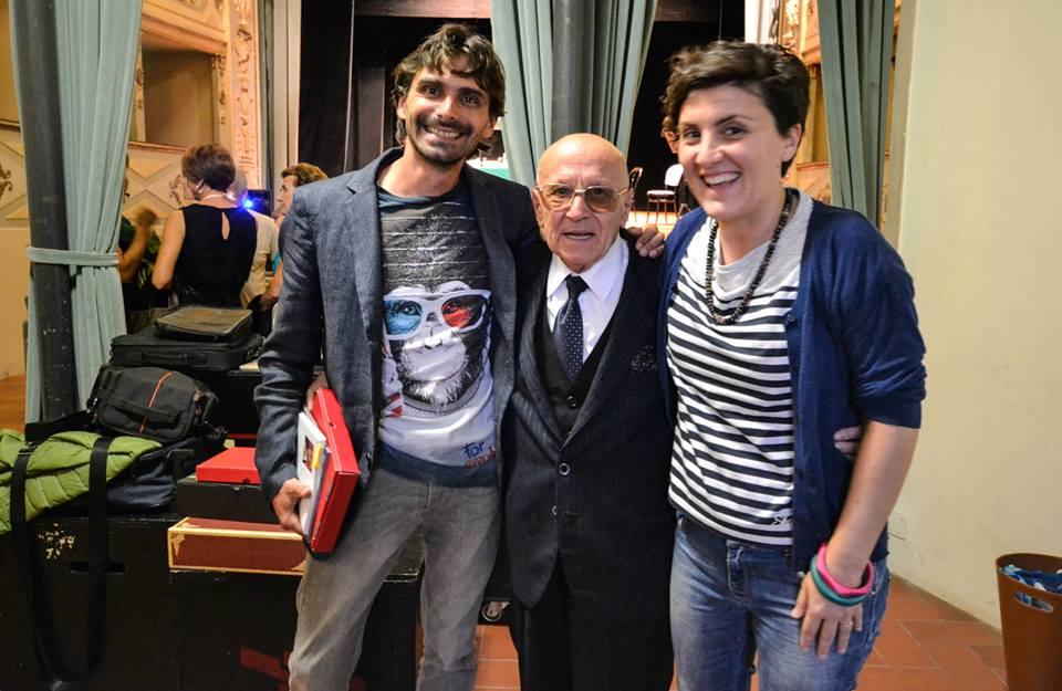 Pastocchi Riccardo con sa moglie Silvia e lo Zio Giovanni al Premio Poesia Pastocchi