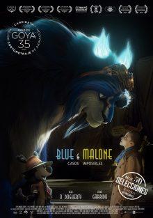 Cartel de Blue & Malone: Casos Imposibles