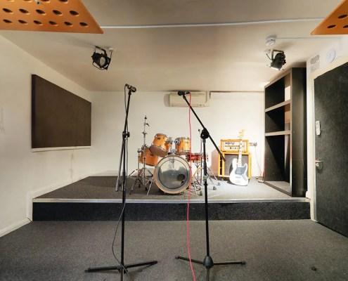 Rehearsal studio London