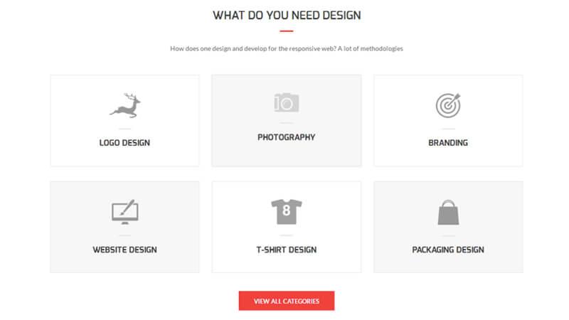 Design contest- Graphic Design Companies Responsive HTML