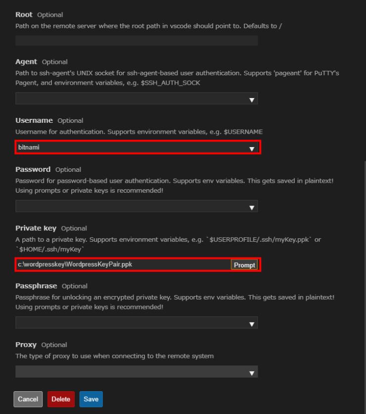 vscode-ssh-fs-menu-configdown