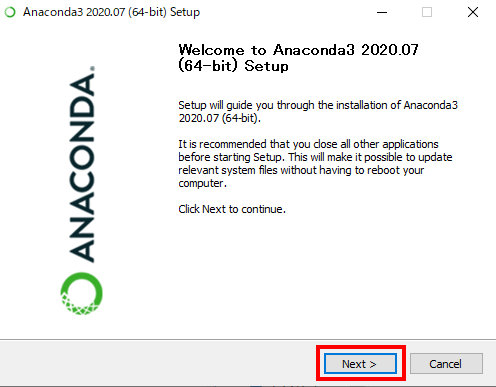 ![anaconda-install-04](https://i0.wp.com/www.premium-tsubu-hero.net/wp-content/uploads/2020/08/anaconda-install-04.png?w=740&ssl=1)