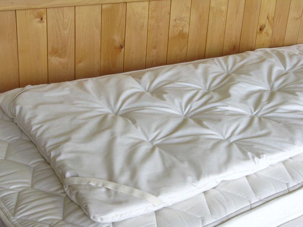 Premium EcoWool Baby Crib Mattress Topper  Premium