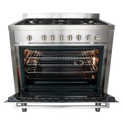 Propane Kitchen Stoves Free Design 36 In Gas Range With 5 Italian Made Burners And Rotisserie