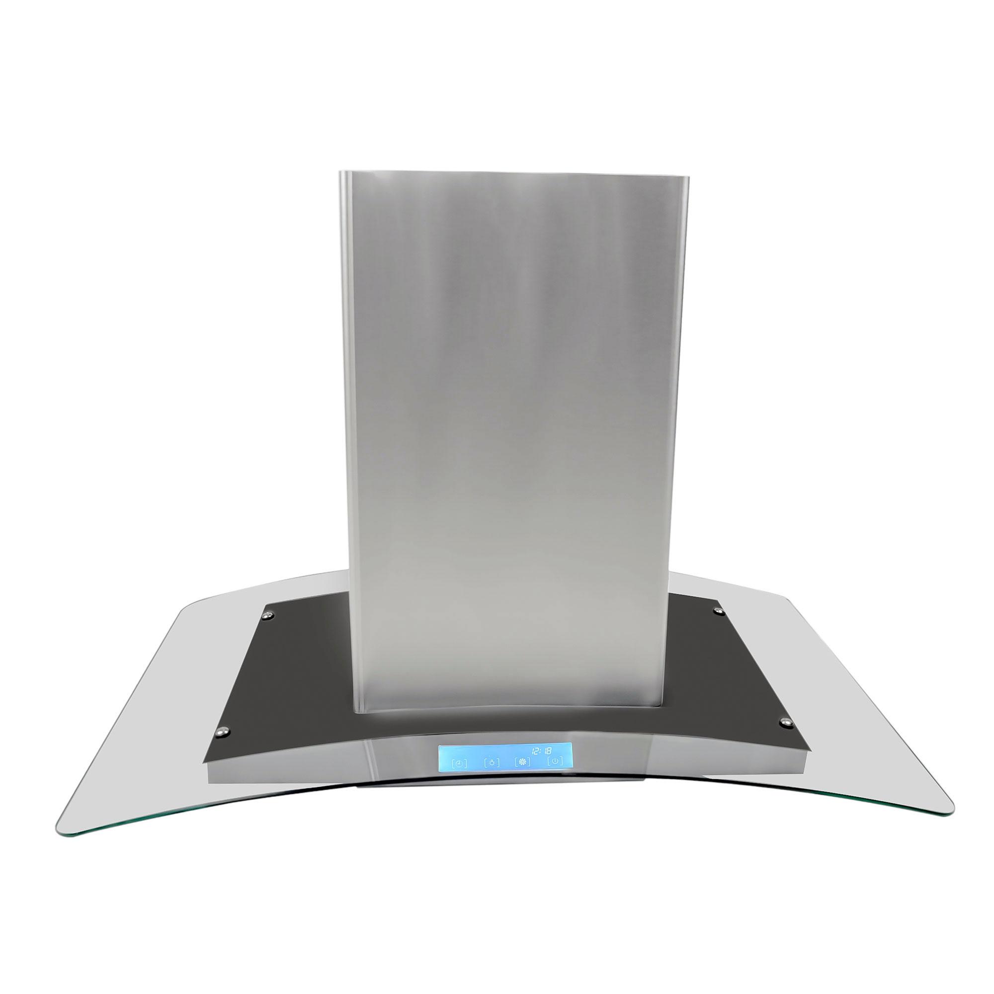 kitchen hoods for sale laminate countertop cosmo appliances 668ics 36 quot island range hood