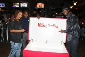 Rickey Smiley and Da Brat w/ Tom