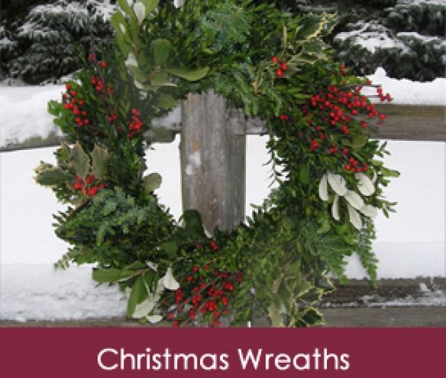 Premium Fresh Christmas Wreaths Delivered To Your Front Door