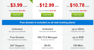 Best Gold Shared Web Hosting 0.01$ Only
