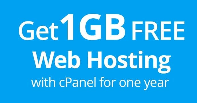 Free Paid Hosting for 1 Year