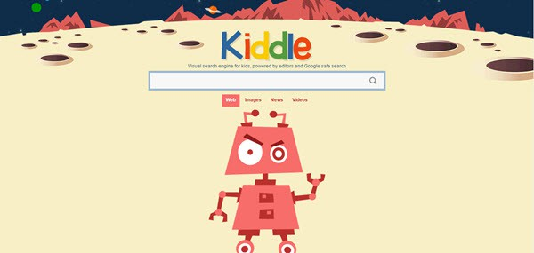 Kiddle.co Google Search Engines for Children