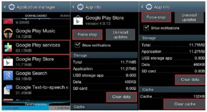 How to Solve Error RH-01 Google Play Store