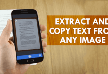 Copy Text from Image Via Text Fairy