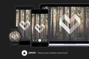 HPSTR: Cool Wallpaper Application for All Different Platforms