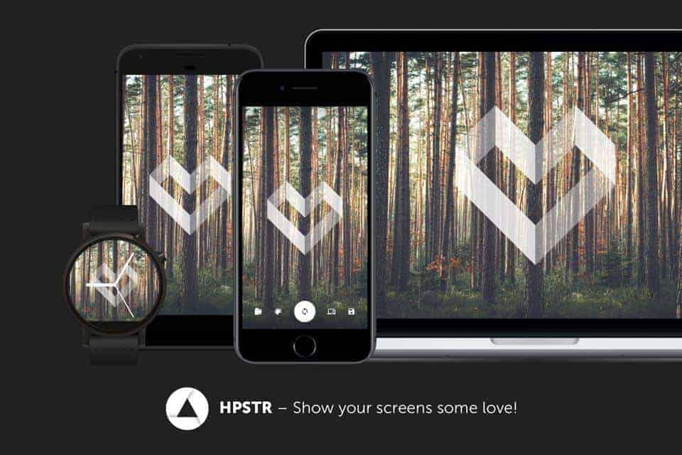 HPSTR: Cool Wallpaper Application for Different Devices