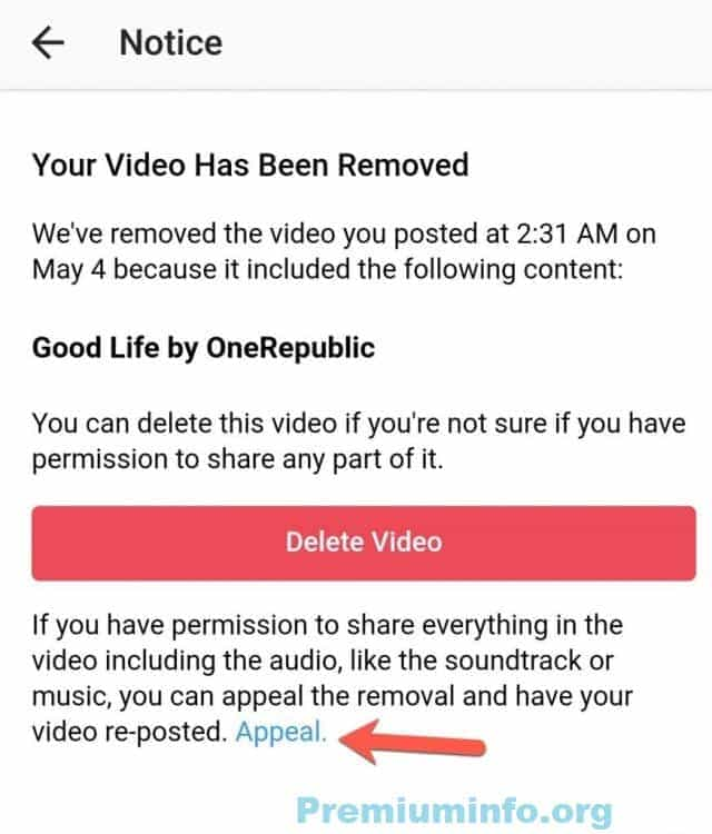 How To Use Copyright Affected Videos In Instagram Premiuminfo