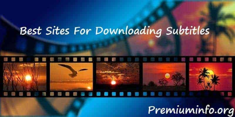 best site for downloading subtitles