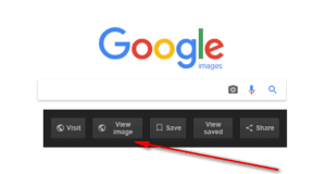 How To Bring Back View Image Feature In Google