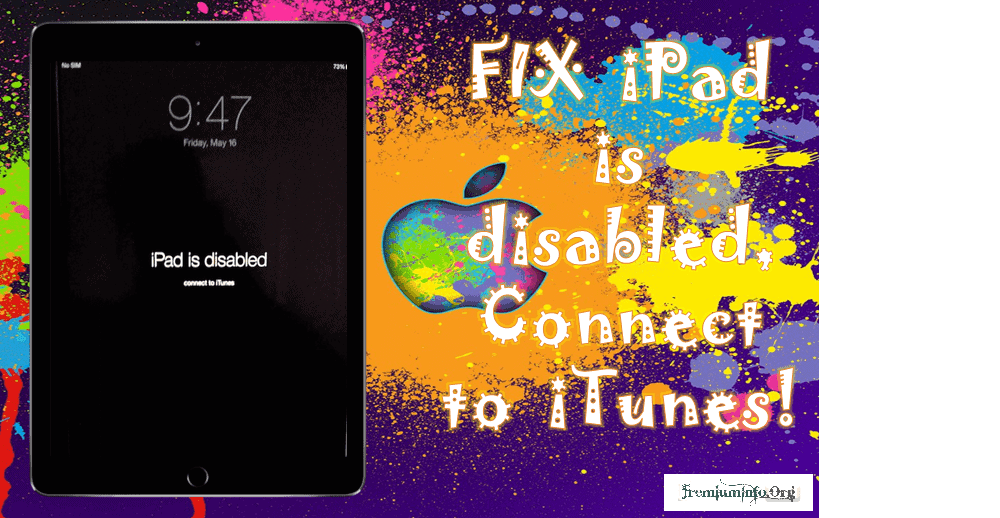 Ipod Is Disabled Connect To Itunes Best Way To Fix It – HD Wallpapers